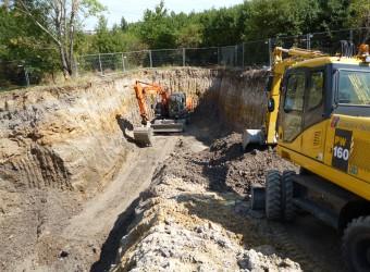 Oprava havárie TN DN 700 sídliště Košík